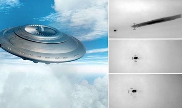 智利海軍發現的不明飛行物(網路圖片)。