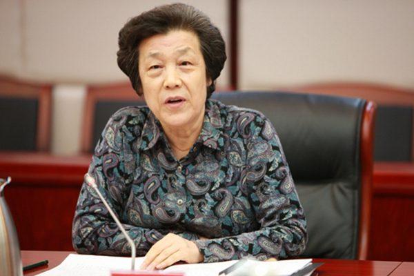 中共原司法部长吴爱英(网络图片)
