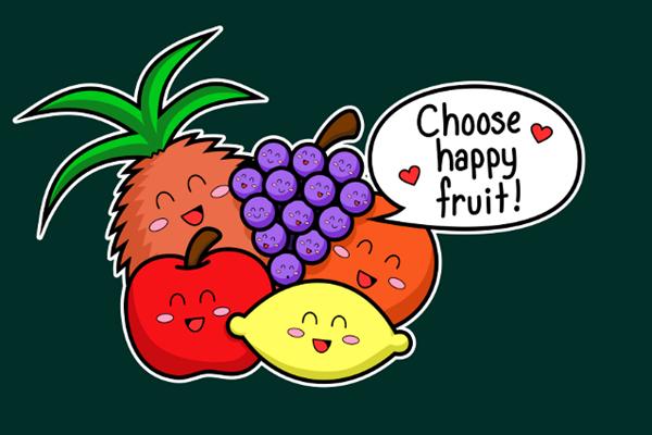 多吃苹果.奇异果!快乐食物吃2周,不忧郁好心情!
