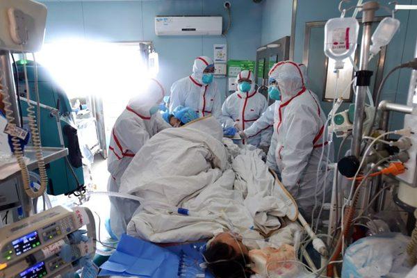 抢救H7N9病人