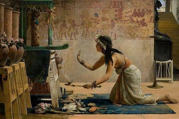 多萝西那一世生活在塞蒂法老的圣殿