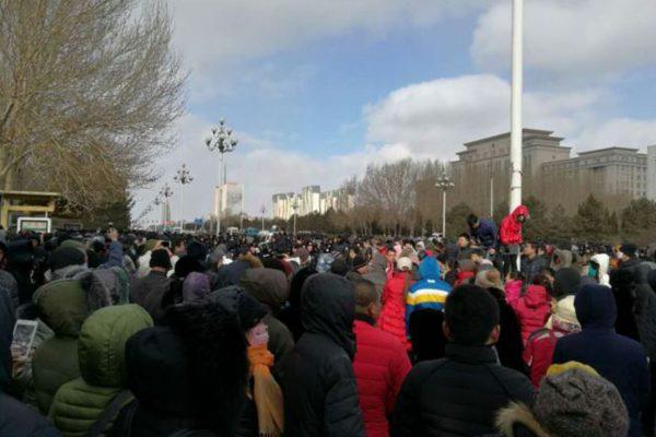 大庆民怒!再爆抗议铝厂项目示威
