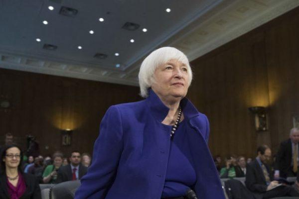 美国经济增长有力 耶伦暗示不久加息