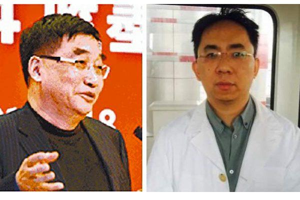 徐长江(左)、涉徐翔(右)。(网络图片)