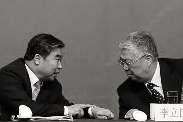 李立国(右)与窦玉沛(左)。(网络图片)