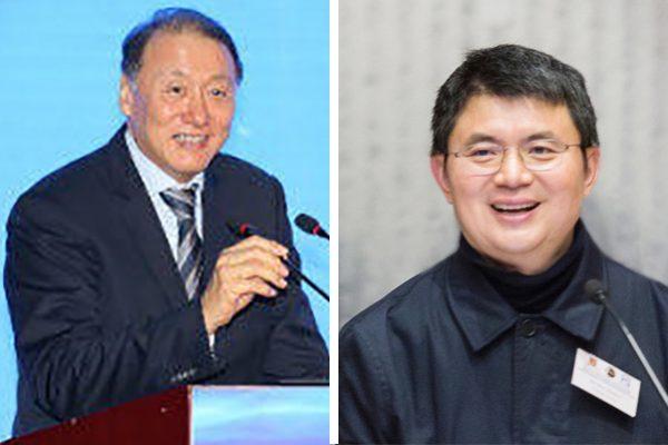 谢镇江(左)、肖建华(右)。(图片合成)