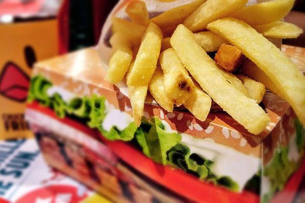 汉堡薯条 burger (资料图片:pixabay)