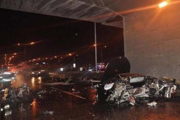 发生在2012年3月的令计划之子法拉利车祸内幕至今扑朔迷离。(网络图片)