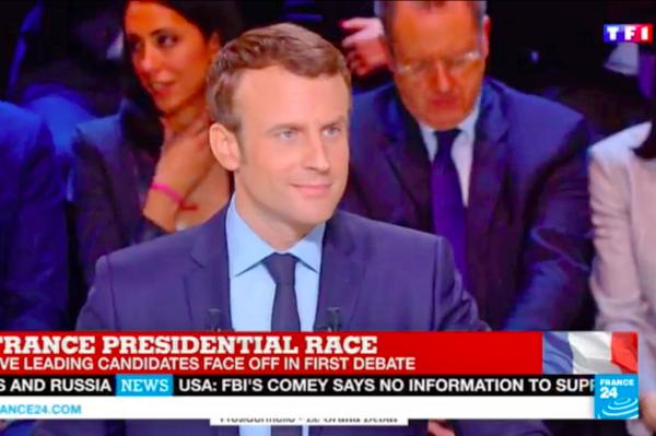 法国大选非左非右马克宏占优势