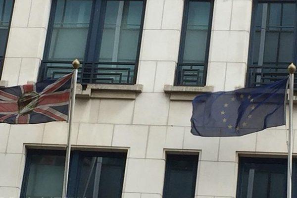 """欧盟启动""""政治红线"""" 拒与英国共论未来关系"""