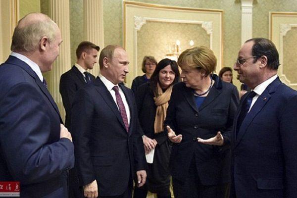 梅克尔五月初将访俄 与普京商讨乌克兰危机