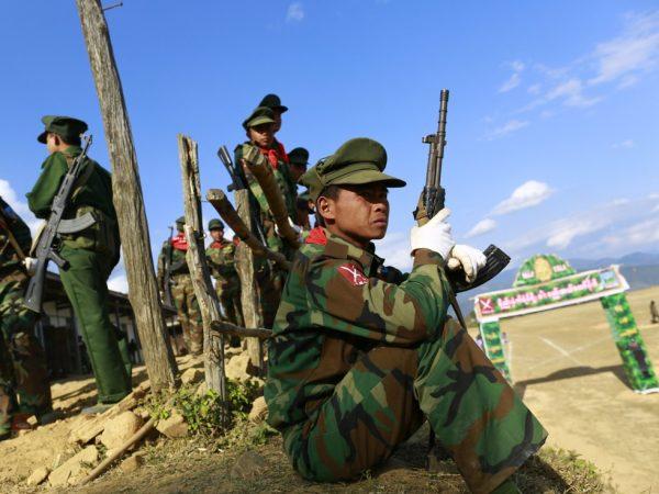 """勾结江泽民?阻碍""""一带一路""""?习近平对缅甸同盟军出手"""
