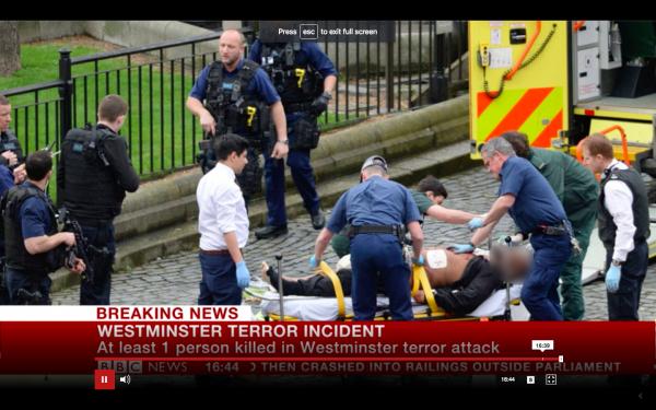 伦敦袭击者曾三次前往沙特