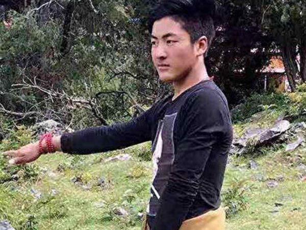 年仅24岁的自焚藏人白玛坚参(网络图片)