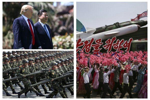 朝鲜扣人质叫嚣备战 半岛离开战多远