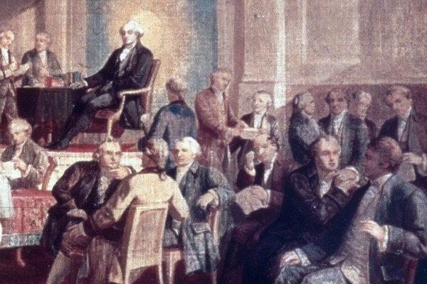 美国史话: 费城会议上4个多月讨论后美国宪法诞生