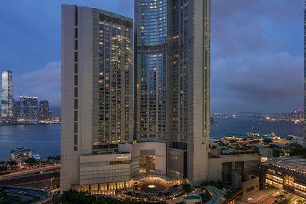 香港四季酒店。(网络图片)