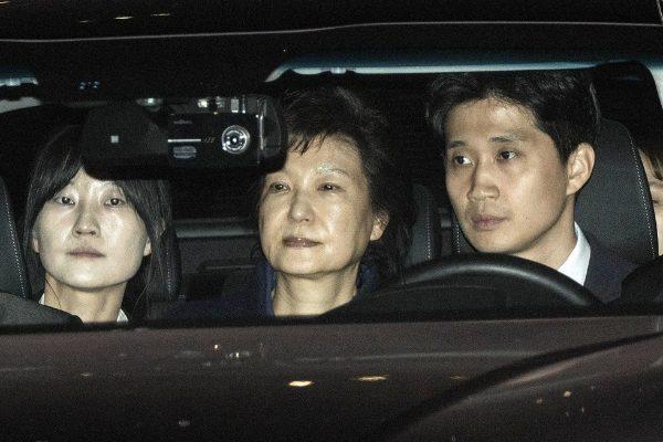 朴槿惠遭第五次看守所讯问 周末或被起诉