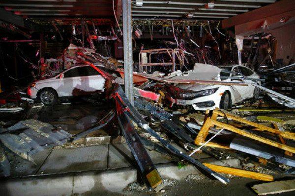 美德州东部遭数股龙卷风袭击 至少5人死亡