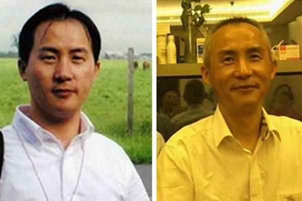 维权律师李和平在狱中遭受酷刑,获释后满头白发,像老了20岁(SOH合成)
