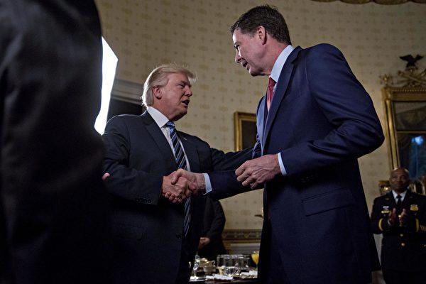 白宫驳斥关于川普要求科米结束对弗林调查的言论