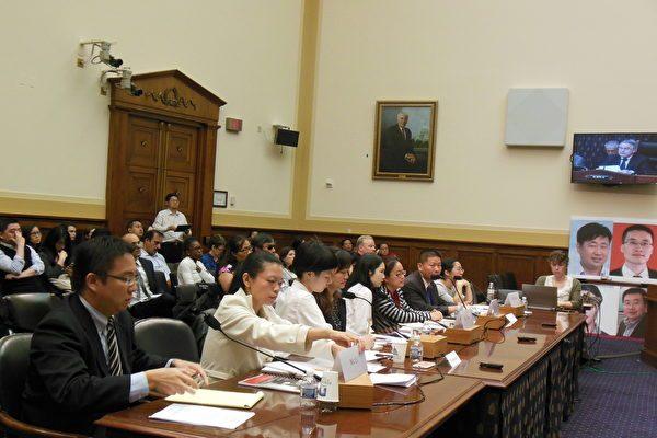 美国国会众议院外交委员会5月18日举行听证会