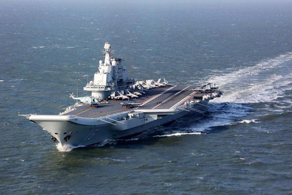 美二艘航母日本海联合军演 抑制朝鲜核威胁