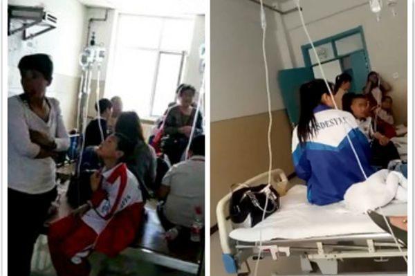 吉林扶余一学校上千学生呕吐腹泻 仍有580人住院 疑为水污染