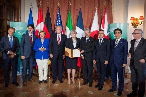 七国集团峰会就海洋主权争端发表声明