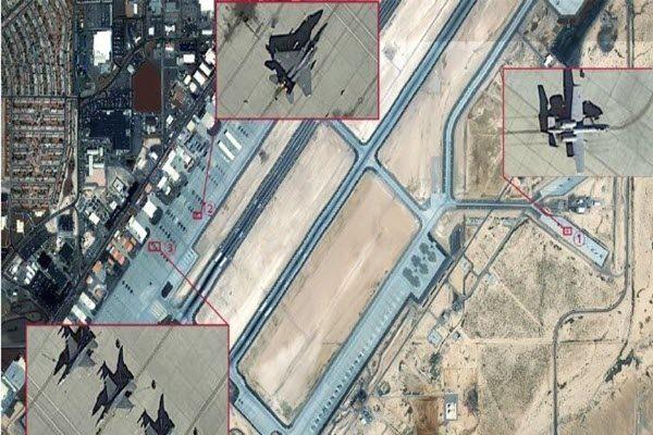 大陆卫星公司上传实拍美军基地细节图 被发现出自谷歌
