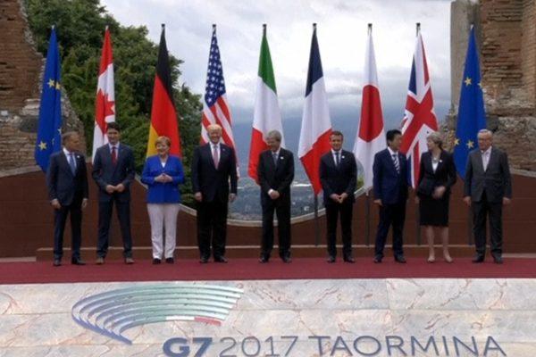 G7峰会留下分歧达成反恐协议