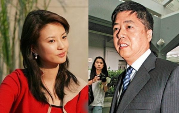央视女主播刘芳菲及丈夫刘希泳