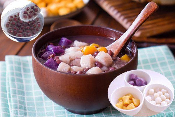 台湾美食红豆芋圆