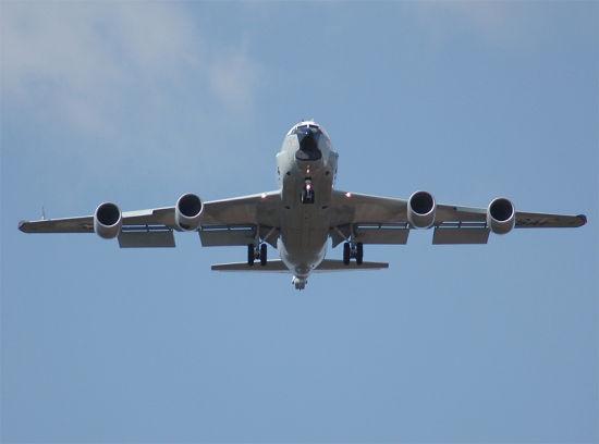WC-135侦察机负责监测朝鲜核试验动静