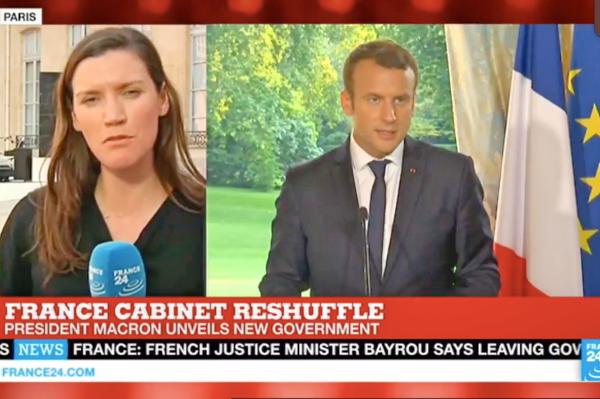 马克龙折兵损将 被迫重组法国新内阁