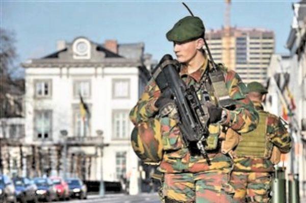 反恐,欧洲多国高度戒备。(网络照片)