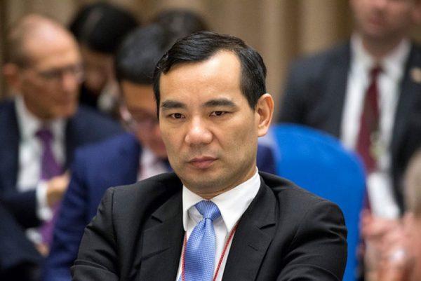 金融反腐正全面进入深水区—安邦集团董事长被带走 (一)