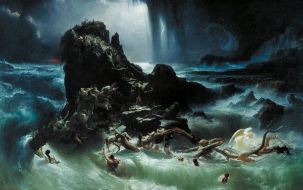 尧的晚年天下暴发大洪水,大洪水几乎是全球性的
