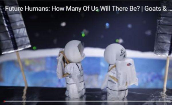 未来人类 有多少人生活在地球上? (视频)