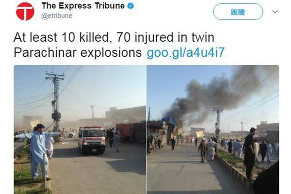 巴基斯坦奎达市强烈爆炸 至少15死32伤