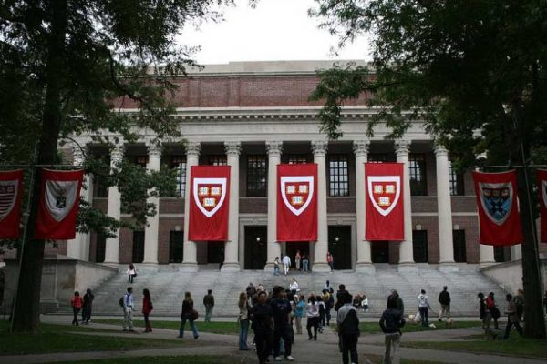 哈佛大学校园一角
