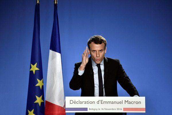 马克龙欧州峰会上呼吁建立强大的欧州