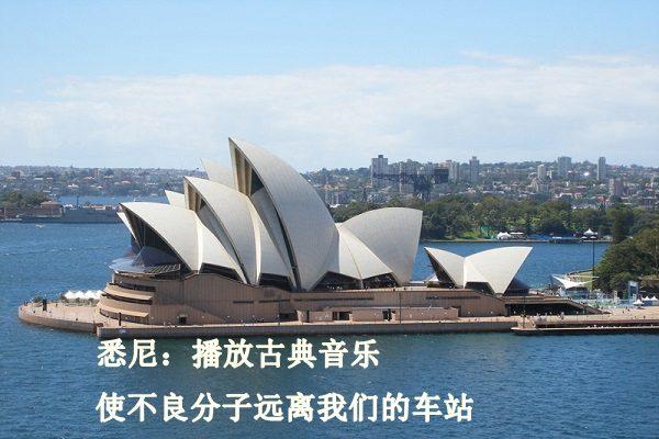 悉尼铁路局发现古典音乐的特殊功能