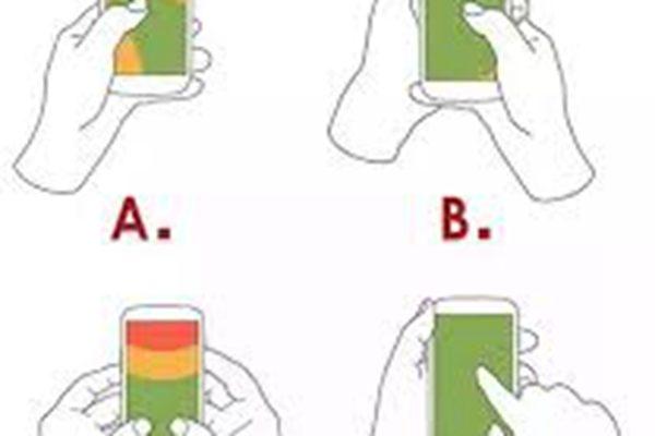操作手机的姿势 :透露了你的性格和感情观