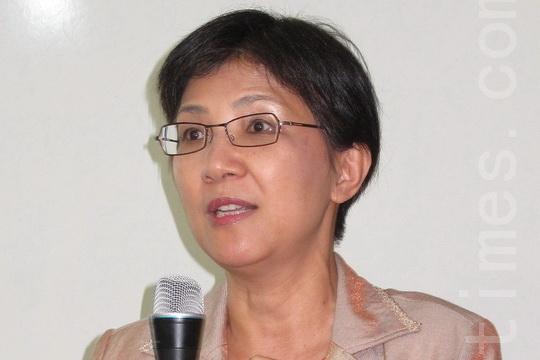 台湾法轮大法学会理事长张锦华教授
