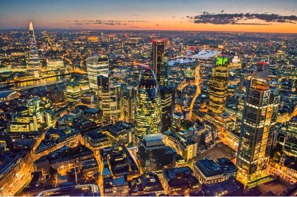 英国伦敦金融城 (网络照片)
