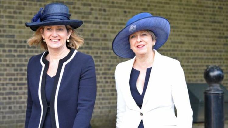英首相特蕾莎-梅。(网络图片)