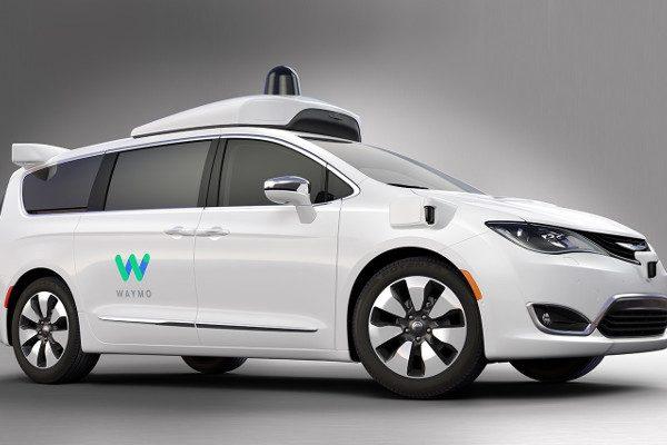 驾驶汽车公司Waymo(图片来源:网路)