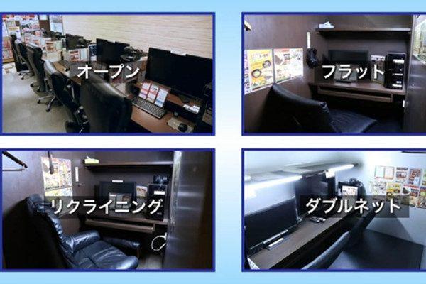 日本网咖(图片来源:网路)