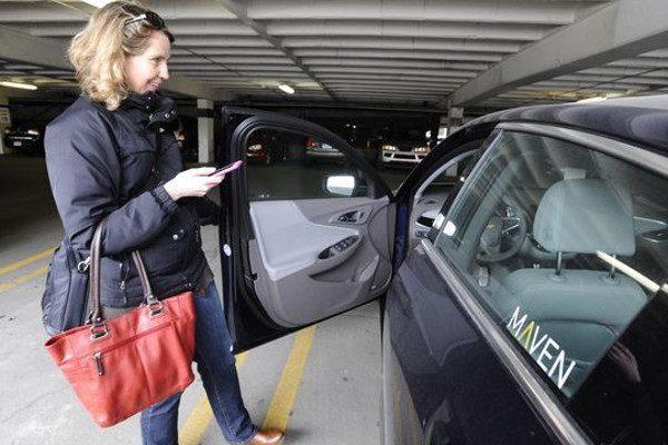 汽车共享服务Maven(图片来源:网路)